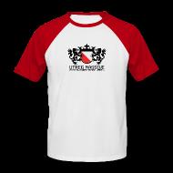 T-Shirts ~ Men's Baseball T-Shirt ~ Utreg Massive Baseball Tee (Red/White)