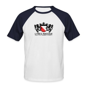 Utreg Massive Baseball Tee (Black/White) - Men's Baseball T-Shirt