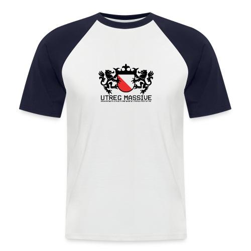 Utreg Massive Baseball Tee (Black/White) - Men's Baseball T-Shirt
