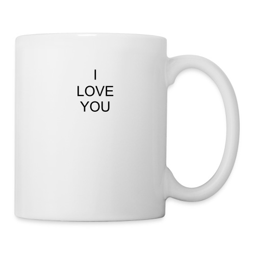 I LOVWE YOU Tasse - Tasse