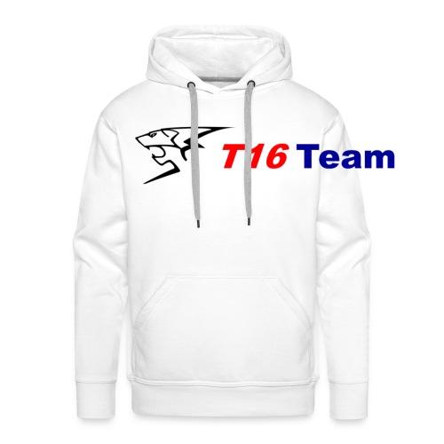 Casquette T16 Team - Sweat-shirt à capuche Premium pour hommes