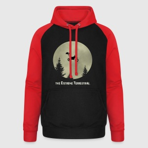 Extreme Terrestrial T-Shirts - Unisex Baseball Hoodie