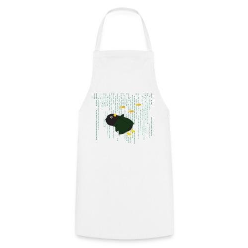 Pingouin Matrix Bullet Time - T-shirt Geek - Tablier de cuisine