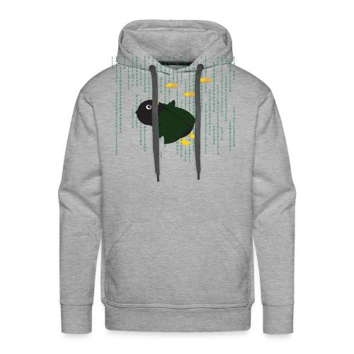 Pingouin Matrix Bullet Time - T-shirt Geek - Sweat-shirt à capuche Premium pour hommes