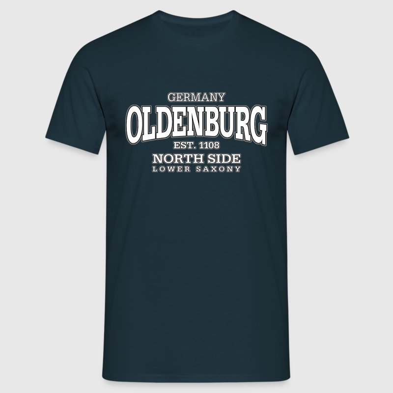 Oldenburg (white) - Männer T-Shirt
