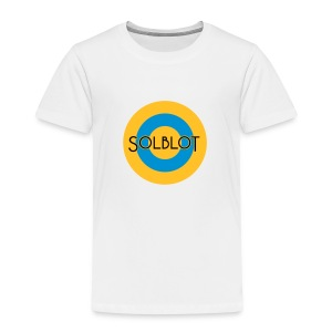 Solblot Button - Kids' Premium T-Shirt