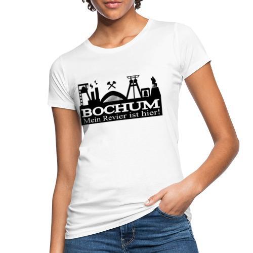 Bochumer Skyline - Mein Revier ist hier! - langärmeliges Männer Baseballshirt - Frauen Bio-T-Shirt