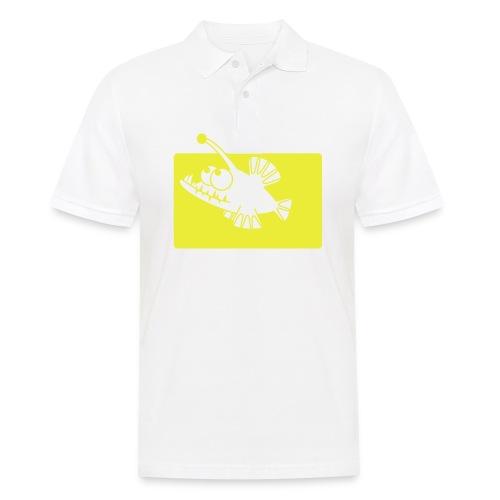 angeln wie ein Fisch - Männer Poloshirt