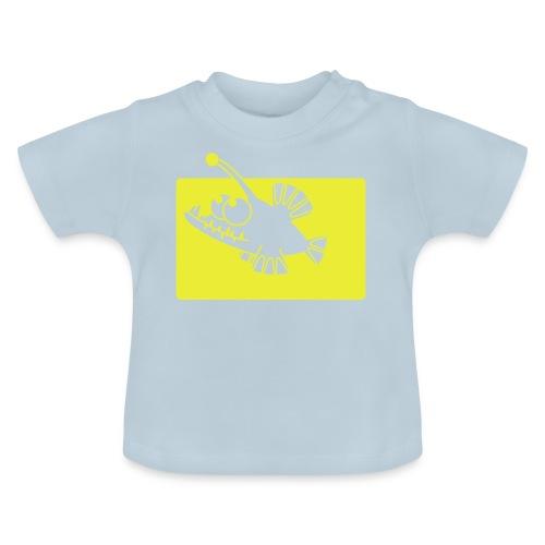 angeln wie ein Fisch - Baby T-Shirt