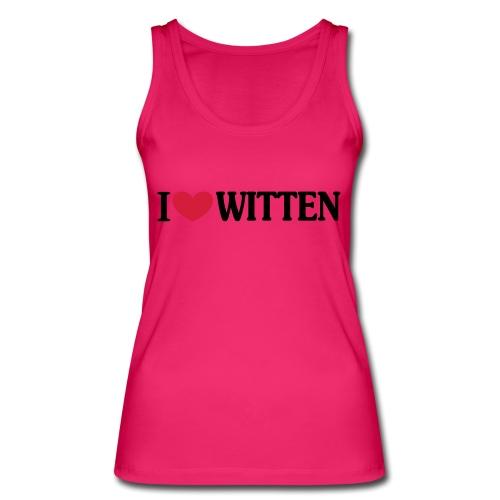 I love Witten (horizontal) - Männer Kapuzenpulli - Frauen Bio Tank Top von Stanley & Stella
