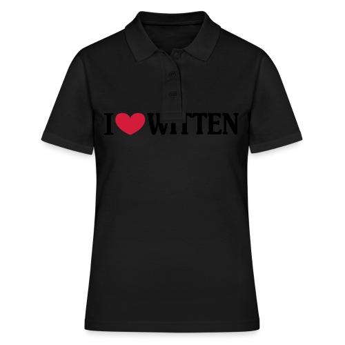 I love Witten (horizontal) - Männer Kapuzenpulli - Frauen Polo Shirt