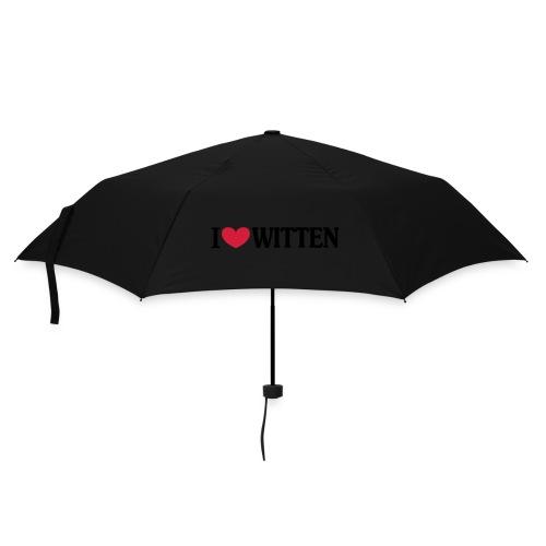 I love Witten (horizontal) - Männer Kapuzenpulli - Regenschirm (klein)