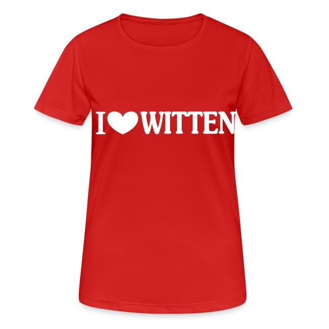 I love Witten (horizontal) - Männer Kapuzenpulli