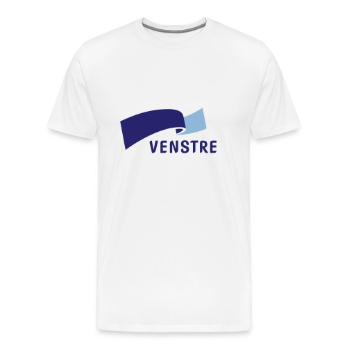 Høyrevenstre - Premium T-skjorte for menn