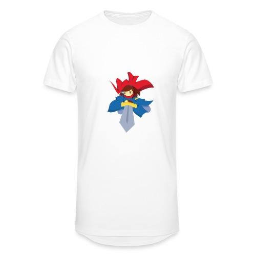 Combattante à l'épée - T-shirt - T-shirt long Homme