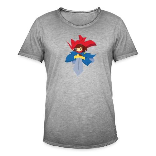 Combattante à l'épée - T-shirt - T-shirt vintage Homme