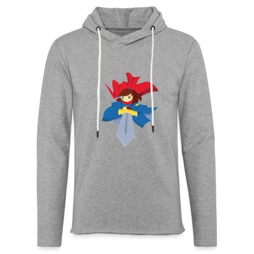 Combattante à l'épée - T-shirt - Sweat-shirt à capuche léger unisexe