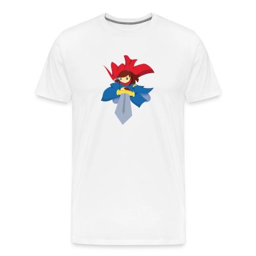 Combattante à l'épée - T-shirt - T-shirt Premium Homme