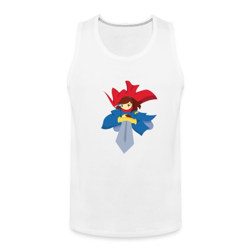 Combattante à l'épée - T-shirt - Débardeur Premium Homme