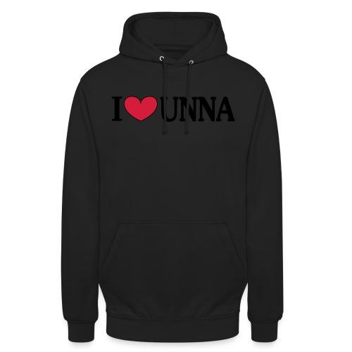 I love Unna - Männer T-Shirt klassisch - Unisex Hoodie