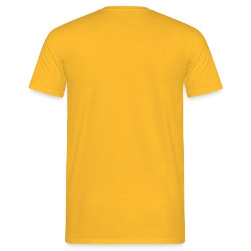 Mannen T-shirt - Parkeerplak manager