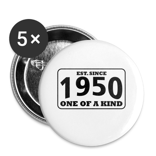 1950 - One Of A Kind - Buttons klein 25 mm