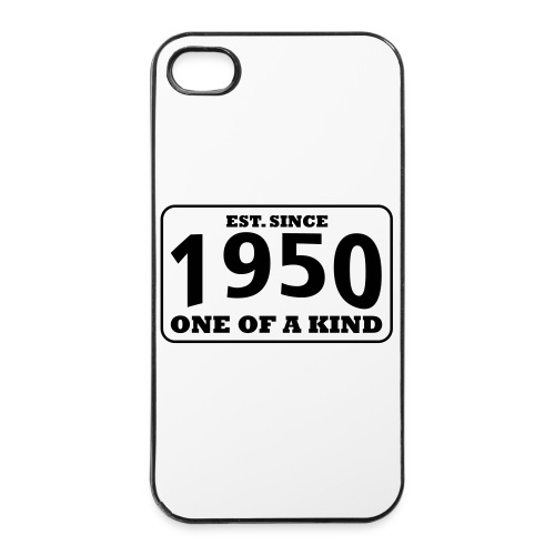 1950 - One Of A Kind - iPhone 4/4s Hard Case