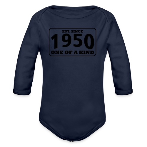 1950 - One Of A Kind - Baby Bio-Langarm-Body