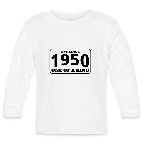 1950 - One Of A Kind - Baby Langarmshirt