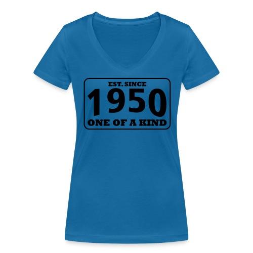1950 - One Of A Kind - Frauen Bio-T-Shirt mit V-Ausschnitt von Stanley & Stella
