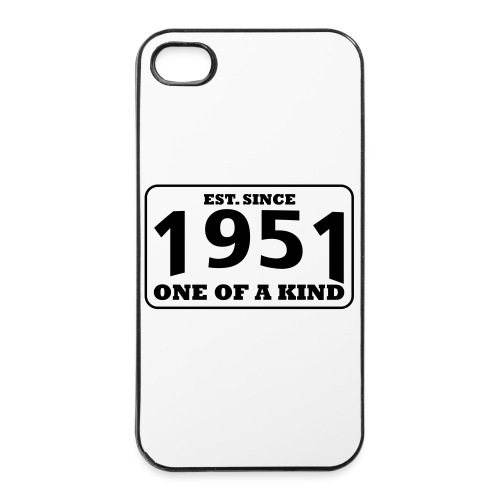 1951 - One Of A Kind - iPhone 4/4s Hard Case