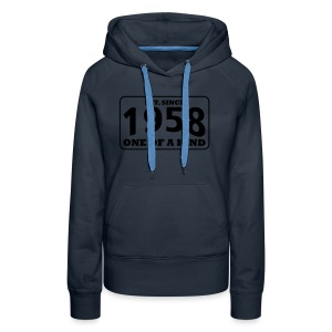 1958 - One Of A Kind - Frauen Premium Hoodie