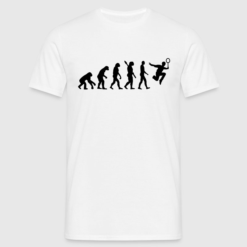 Evolution Badminton T-Shirts - Männer T-Shirt