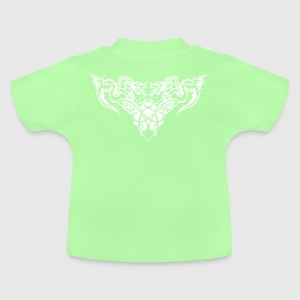 white dragons Sweats - T-shirt Bébé