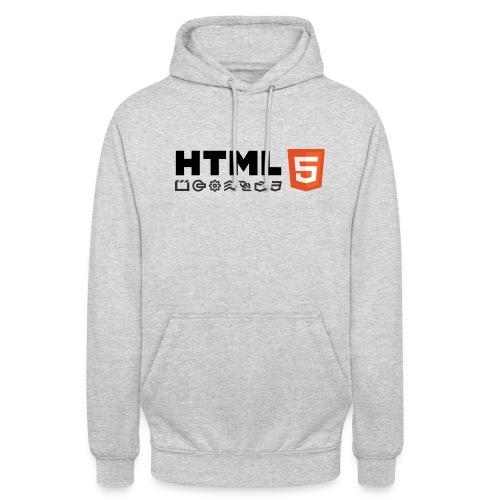 T-shirt HTML 5 - Sweat-shirt à capuche unisexe