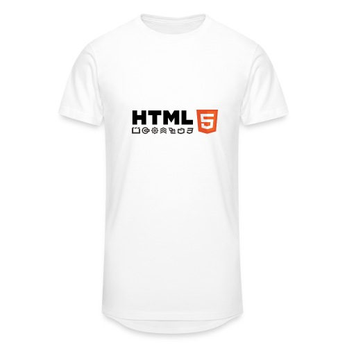 T-shirt HTML 5 - T-shirt long Homme