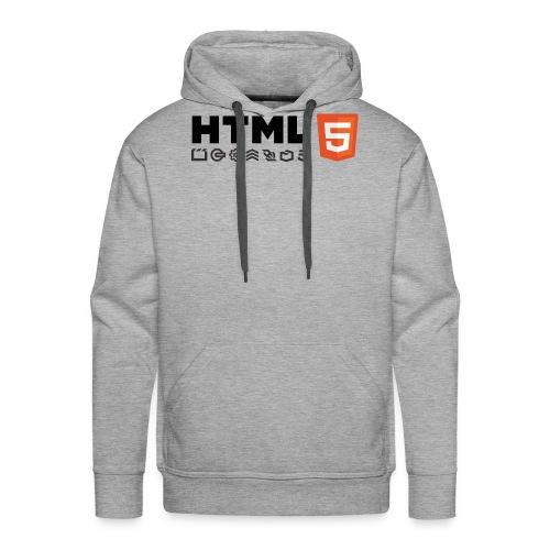 T-shirt HTML 5 - Sweat-shirt à capuche Premium pour hommes
