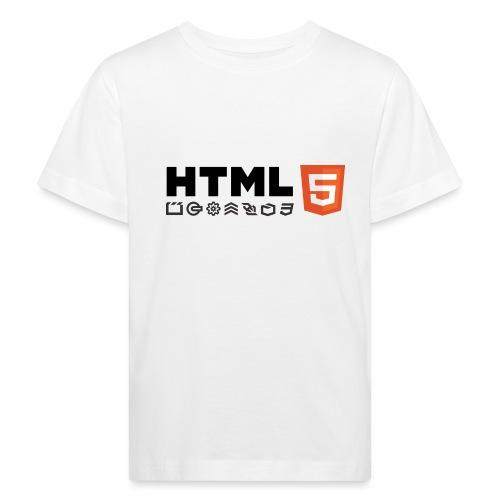T-shirt HTML 5 - T-shirt bio Enfant