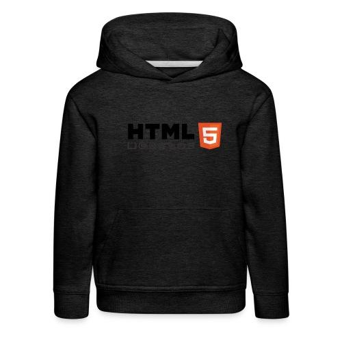 T-shirt HTML 5 - Pull à capuche Premium Enfant