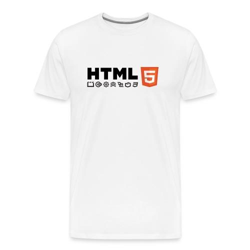 T-shirt HTML 5 - T-shirt Premium Homme