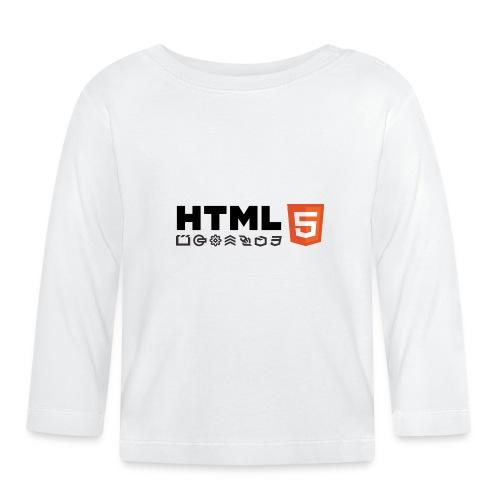 T-shirt HTML 5 - T-shirt manches longues Bébé