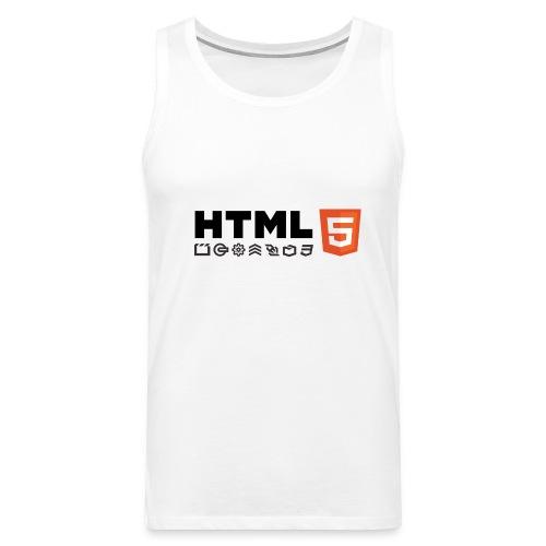 T-shirt HTML 5 - Débardeur Premium Homme