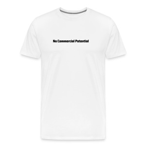 No Commercial Potential Flaschen & Tassen - Männer Premium T-Shirt