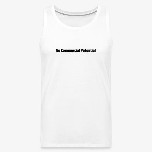 No Commercial Potential Flaschen & Tassen - Männer Premium Tank Top