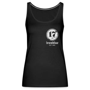 Zipper, front and back print - Frauen Premium Tank Top