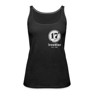 Zipper, front and back print - Frauen Premium Tank Top