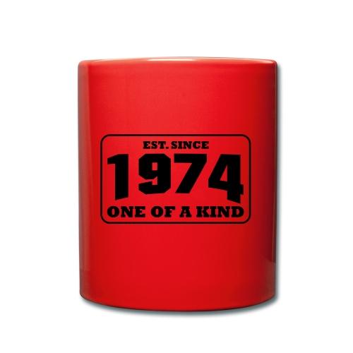 1974 - One Of A Kind - Frauen Shirt - Tasse einfarbig