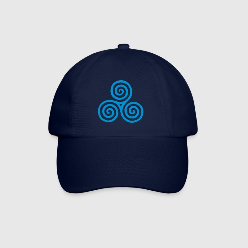 Celtic triskel, Triskelion vector Caps & Hats - Baseball Cap