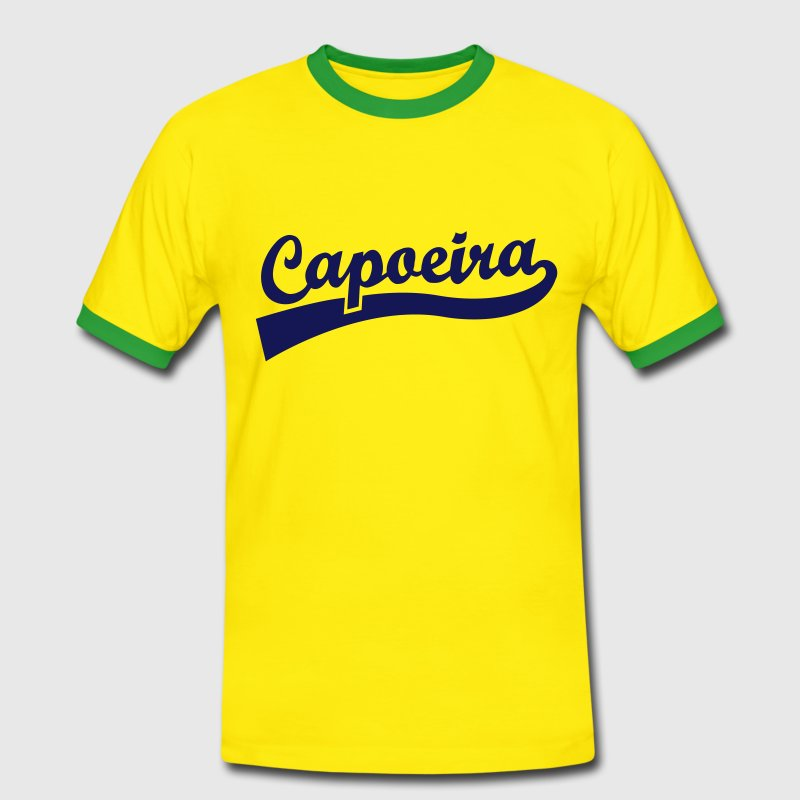Capoeira old school T-Shirts - Men's Ringer Shirt