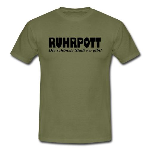 RUHRPOTT - die schönste Stadt wo gibt! - Frauen Kapuzenpullover - Männer T-Shirt